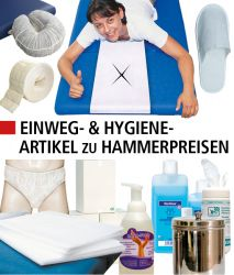 Hygiene-& Einwegartikel, Desinfektion, Arbeitsschutz