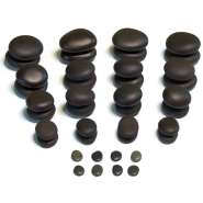--«Premium» Hot Stones Set - 40-teilig