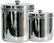 --Edelstahlbehälter – aufgeräumt und sauber