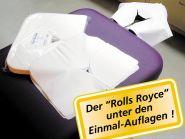 --«Face Favors DELUXE» Einwegauflagen für Kopfstützen mit Y-Schlitz, 100 Stk.