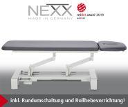 --Behandlungsliege «NEXX 2» elektr. höhenverstellbar, 2-teilige Liegefläche - CE -
