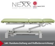 --Behandlungsliege «NEXX 3» elektr. höhenverstellbar, 3-teilige verstellbare Liegefläche - CE -