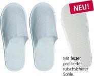 --Premium Einweg-Pantoffeln / -Slipper