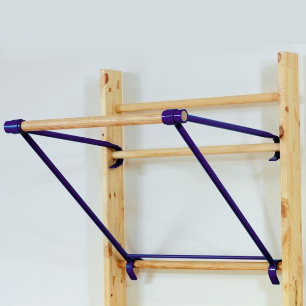 Klimmzugbügel zum Einhängen in Sprossenwand - CE -