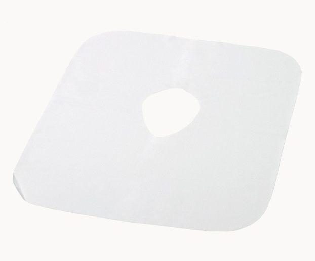 WASCHBARE Gesichtsauflage-Tücher aus Mikrofaser, Pack à 10 Stk.