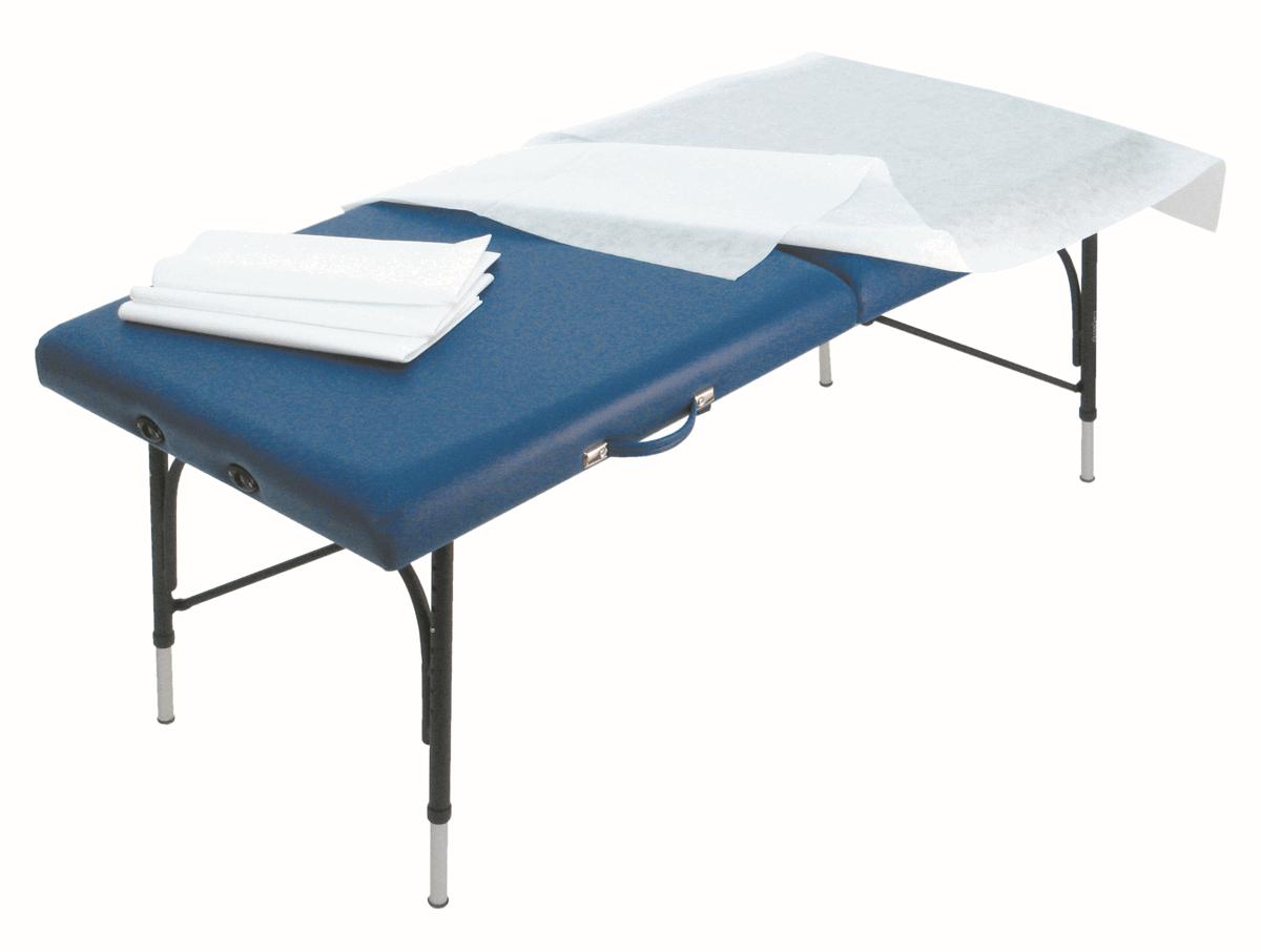 standard einweg liegenauflagen aus pp vliesstoff 50 stk. Black Bedroom Furniture Sets. Home Design Ideas