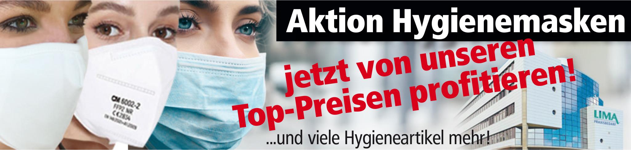 Banner Aktion Hygienemasken