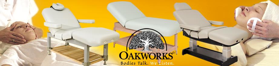 Banner Oakworks Beauty Liegen
